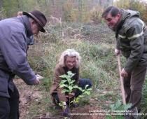 Plantation du chêne du centenaire