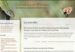 Une base de données naturalistes régionale : CETTIA IdF