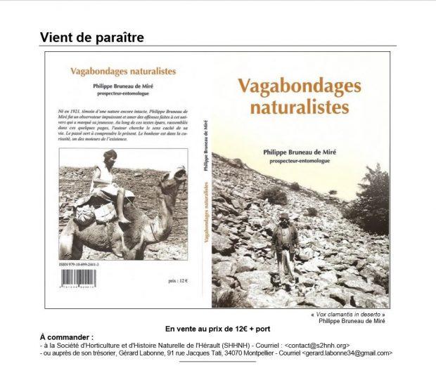 Vagabondages naturalistes de P. Bruneau de Miré