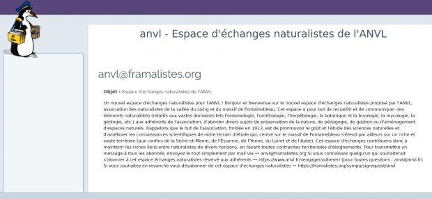 Un nouvel espace d'échanges naturalistes pour l'ANVL